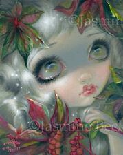 Poisonous Beauties 8 Castor Bean Fairy Jasmine Becket-Griffith CANVAS PRINT art