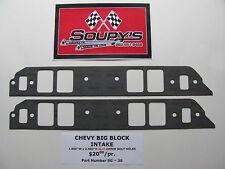 "Chevy Big Block Intake Gaskets (1.800"" x 2.500"" Ports)"