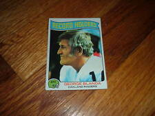1975 Football Card RECORD HOLDERS George Blanda OAKLAND RAIDERS Trading TOPPS