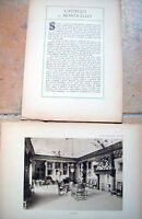 1915 CASTELLO DI MONTICELLO D'ALBA. DA 'VILLE E CASTELLI' DI VITTORIO CICALA