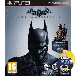 BATMAN ARKHAM ORIGINS PS3 GIOCO NUOVO SIGILLATO PAL ITALIANO PLAYSTATION 3