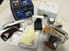 Nikon 1 J1 10.1MP Digital Camera - White With VR 10-30mm Lens & Diving Case WOW!
