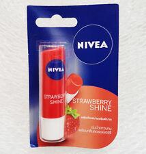NIVEA LIP BALM CARE FRUITY SHINE STRAWBERRY SPF10 8-HOUR MOISTURE 4.8 g.