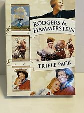Rodgers & Hammerstein Triple Pack 3 DVD Box Set Sound Of Music Oklahoma King & I