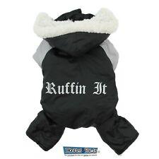 Doggie Design Lined Water Repellent Black Ruffin It Snow Suit Outdoor Jacket