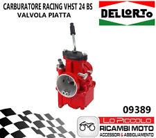 09389 Carburettor Dellorto Vhst 24 BS Red Racing Vespa Scooter Moto Valve Plate