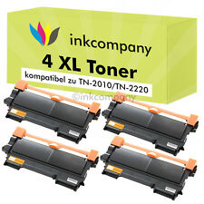 4 x XXL TONER PATRONE NEU für Brother MFC7360N MFC7460DN MFC7860DW TN2220