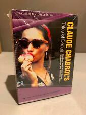 CLAUDE'S CHABROL'S TALES OF DECEIT Kimstim Collection 5x DVD KINO Sealed R1