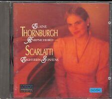 SCARLATTI - 18 Harpsichord Sonatas - Elaine THORNBURGH - Koch