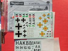 DECALS HE 111 PART 2 - 1/72 - BEGEMONT 72008 (1491)