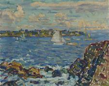 Prendergast Maurice Gloucester Canvas 16 x 20    #6995