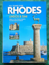 Full Tourist Guide Rhodes: Lindos & Simi. Dimitris Haitalis 1996. 142 pages.