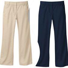 George Girls' School Uniform Flat Front Pant Color/Size