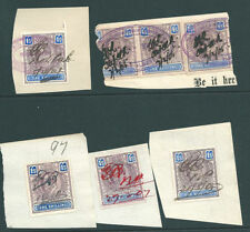 Victorian (1840-1901) British Colony Fiscal, Revenue Stamps