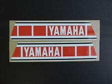 1979  Yamaha YZ 125 250 Euro Model Gas Tank Decal Set. AHRMA
