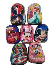 Boys Girls Character Backpack Kids School Lunch Bag Travel Nursery Rucksack