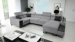 Brand New Corner Sofa Bed With Storage  Alicante IV Mini