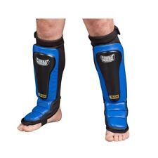 New Combat Sports Mma Kickboxing Karate Grappling Gel Shock Shinguards - Blue