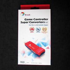Brook PS3 PS4 Controller Adapter to Nintendo Switch, Wii U, for Console New