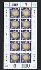 Malta 2009 - Europa Mitläufer - 10 Jahre Euro - Nr. 1593 Kleinbogen ** MNH