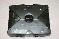 custom Xbox Skeleton Smoke Black special edition + av cable - NTSC-J - 3033991