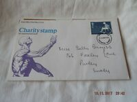 POST OFFICE FIRST DAY COVER CHARITY STAMP