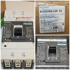 NOS Siemens NJGA JG 3P 300 Amp VL Circuit Breaker NJG3B300L NJG3B300LARNXX Shunt