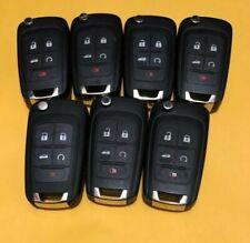 Lot of 7 Chevrolet 5 Buttons KR55WK50073 KeyLess Entry OEM Mint