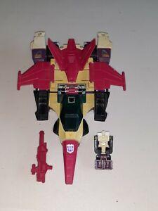 G1 transformers headmaster apeface 100% complete 1987 spasma