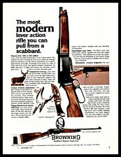 1977 Browning Blr Lever Action .243 .308 or .358 Rifle Ad