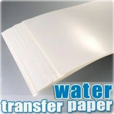 Water Slide Decal Paper A4 Inkjet  Craft Transfer 20pcs/1pack Transparent