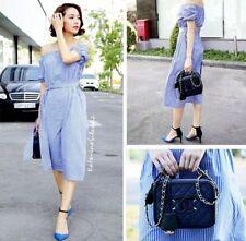 Zara Cotton Striped Plus Size Dresses for Women