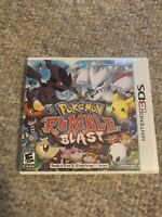 Pokemon Rumble Blast Complete Game (Nintendo 3DS, 2011) Tested Works!