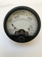 Vintage Ammeter HF - 1942 - Thermo Couple  FG X 2