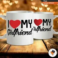 I love my girlfriend funny gift for boyfriend anniversary coffee mug cup gifts