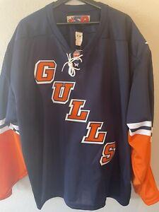 New Rare And Vintage San Diego Gulls ECHL XXL Jersey