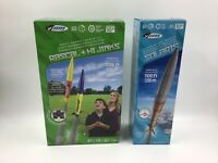 Lot Of 3 Sealed New Estes Model Rockets Rascal Hijinks Solaris With LAUNCH PAD🚀