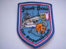 Aufnäher Fregatte Schleswig Holstein F216  11er Korporalschaft  ca8x10m
