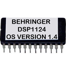 Behringer DSP1124P Latest OS 1.4 Firmware Upgrade DSP-1124