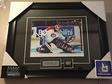 Patrick Roy Montreal Canadiens unsigned Hockey Frame Cadre Glove Save NHL Habs