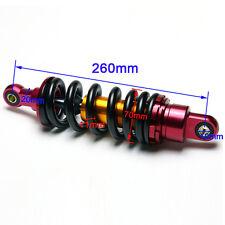 """260mm 10"""" Shock Absorber Rear Suspension For Motorcycle Dirt  Pocket Bike Quad A"""