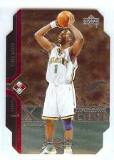 2004-05 Upper Deck Black Diamond Cut DOUBLE DC31 Baron Davis New Orleans Hornets