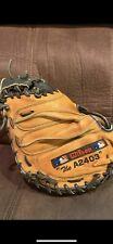 "Wilson A2000 Series Catchers Mitt A2403 Pudge Pro Stock 32.5"" USED"