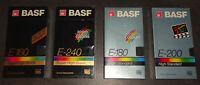 BASF High Standard / Super High Grade E-180 / 200 /240 TAPE SEALED NEU & OVP TOP