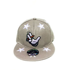 Il fumo mano stelle hip-hop fresco Regolabile Unisex Baseball Cappello Cappellino