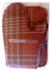 MISSONI HOME MATILDA 156 GANT + 2 MANIQUES OVEN MITT + 2 POT HOLDERS COTON