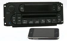 2002-2007 Chrysler Jeep Dodge Radio AM FM CD w Bluetooth RBK Digital 22-10