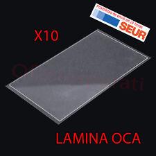 10X Laminas Adhesivo OCA para Samsung Galaxy S4 Mini I9190