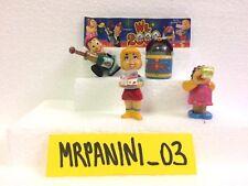 W IL 2000 1999 - Kinder SORPRESINE - Serie Completa 4 pz + CARTINA