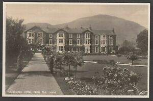 Postcard Ullswater Hotel Cumbria view From The Lawn RP by GP Abraham 3022